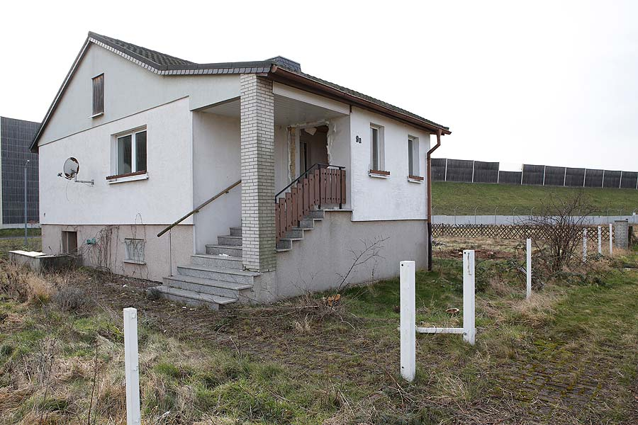 Die letzten Häuser werden auch irgendwann abgerissen.