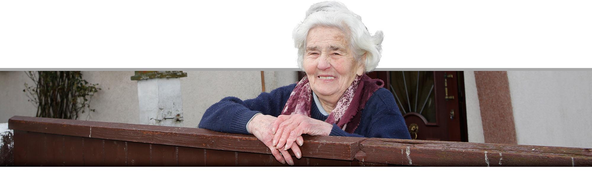 Martha Höpfner wird bald die letzte Bewohnerin von Kursdorf sein.