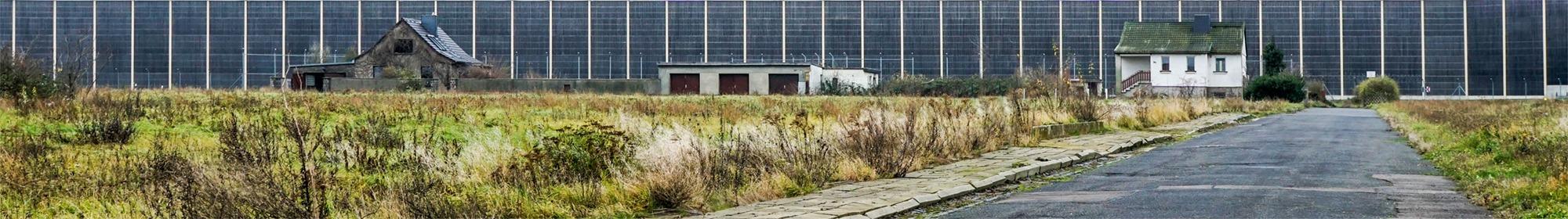 Kursdorf im Norden von Leipzig ist inzwischen ein Geisterdorf