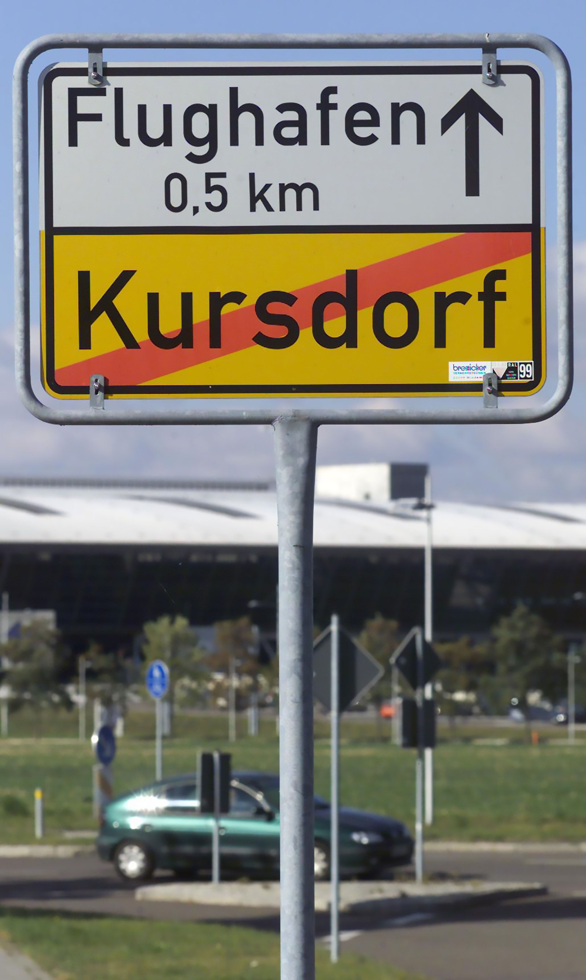 Bei allem Fluglärm: Kursdorf war stets gut angebunden.