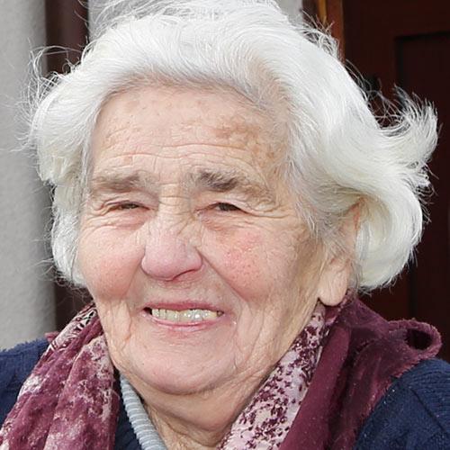Martha Höpfner wird bald die letzte Bewohnerin von Kursdorf sein
