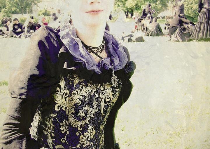Beim Viktorianischen Picknick auf dem WGT 2010 trug Sommer dieses viktorianische Kostüm..