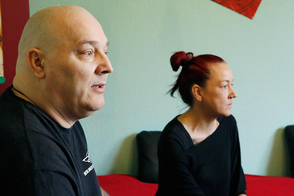 Vicky Heinrich und ihr Partner Heinz Madsen sind Stammgäste beim WGT.