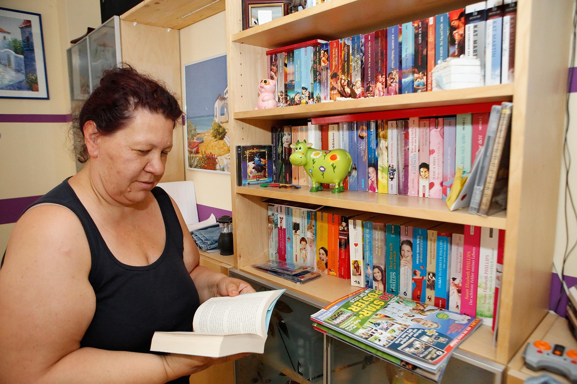 Zeitmanagement ist alles: Annett Petrick liest auch ab und an ein Buch.
