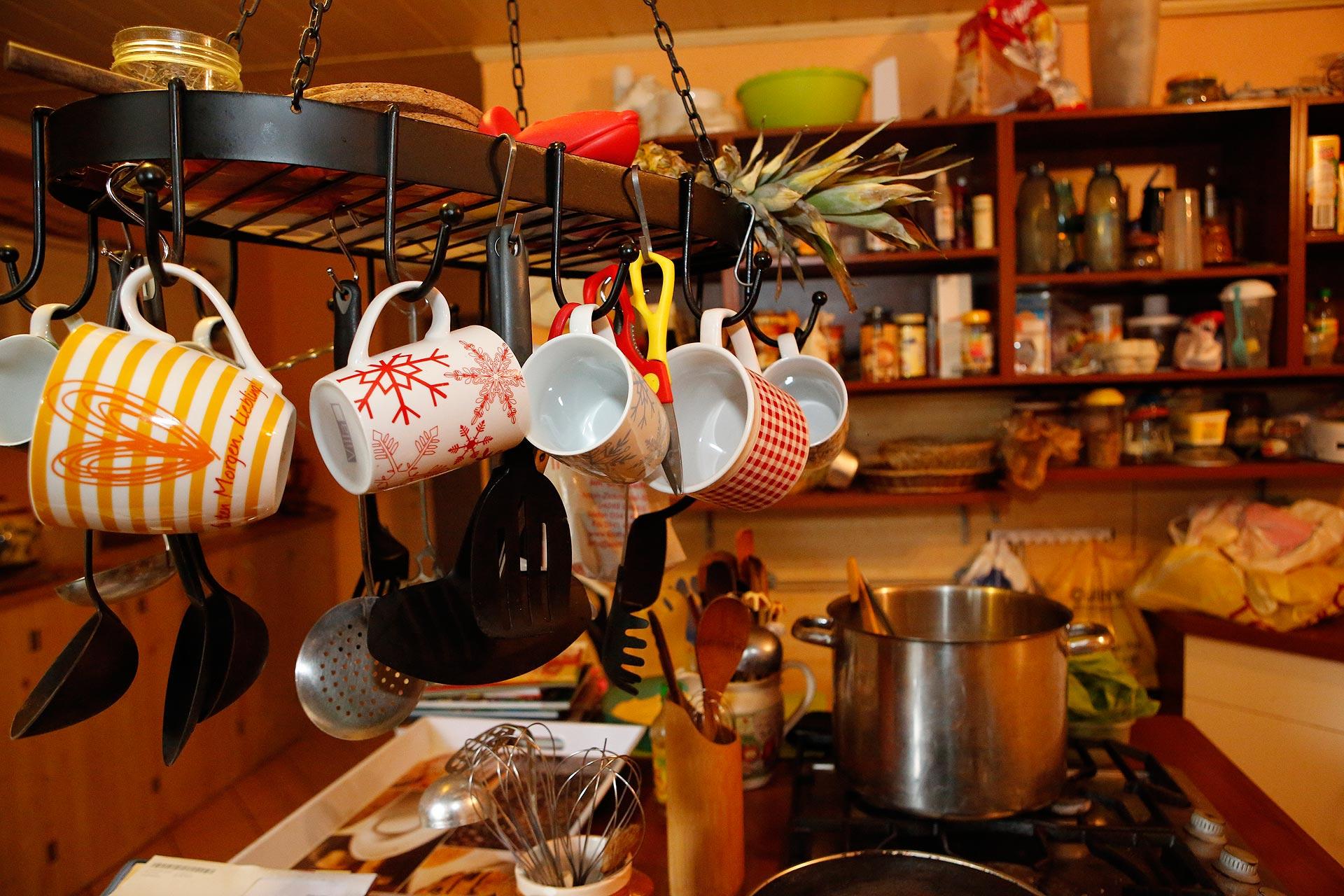 Annett Petrick aus Leipzig hat elf Kinder. Sie kocht täglich für die Rasselbande.