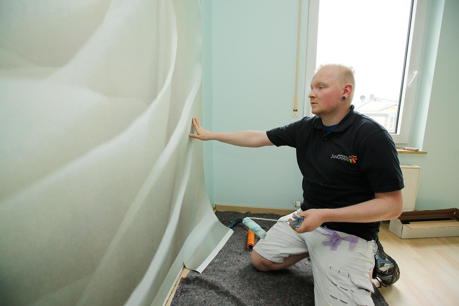 Sven Schüler arbeitet seit Anfang des Jahres für Annett Junghans.