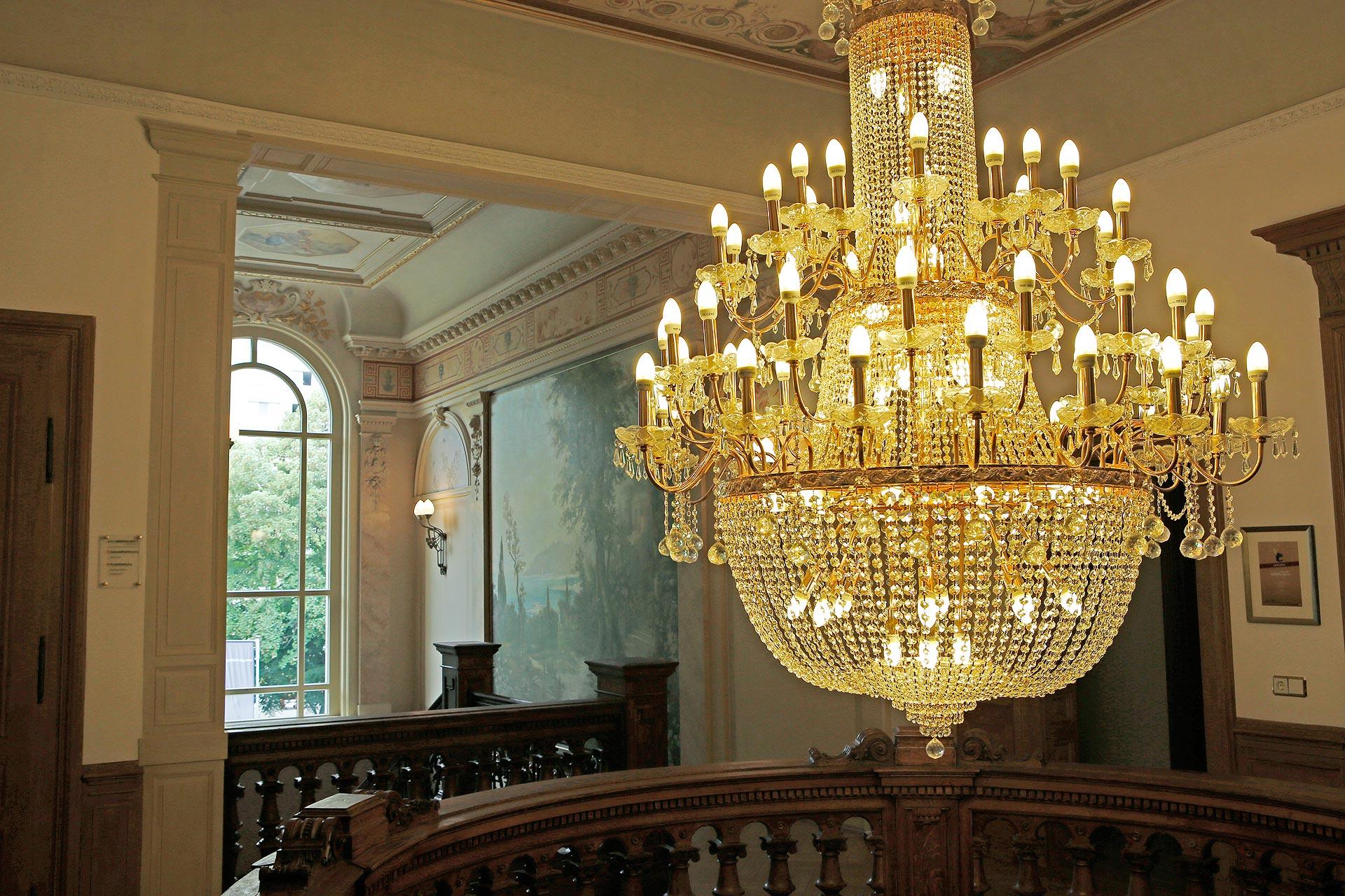 Schickes Ambiente: Die GRK Holding sitzt in einer Villa im Leipziger Musikerviertel.