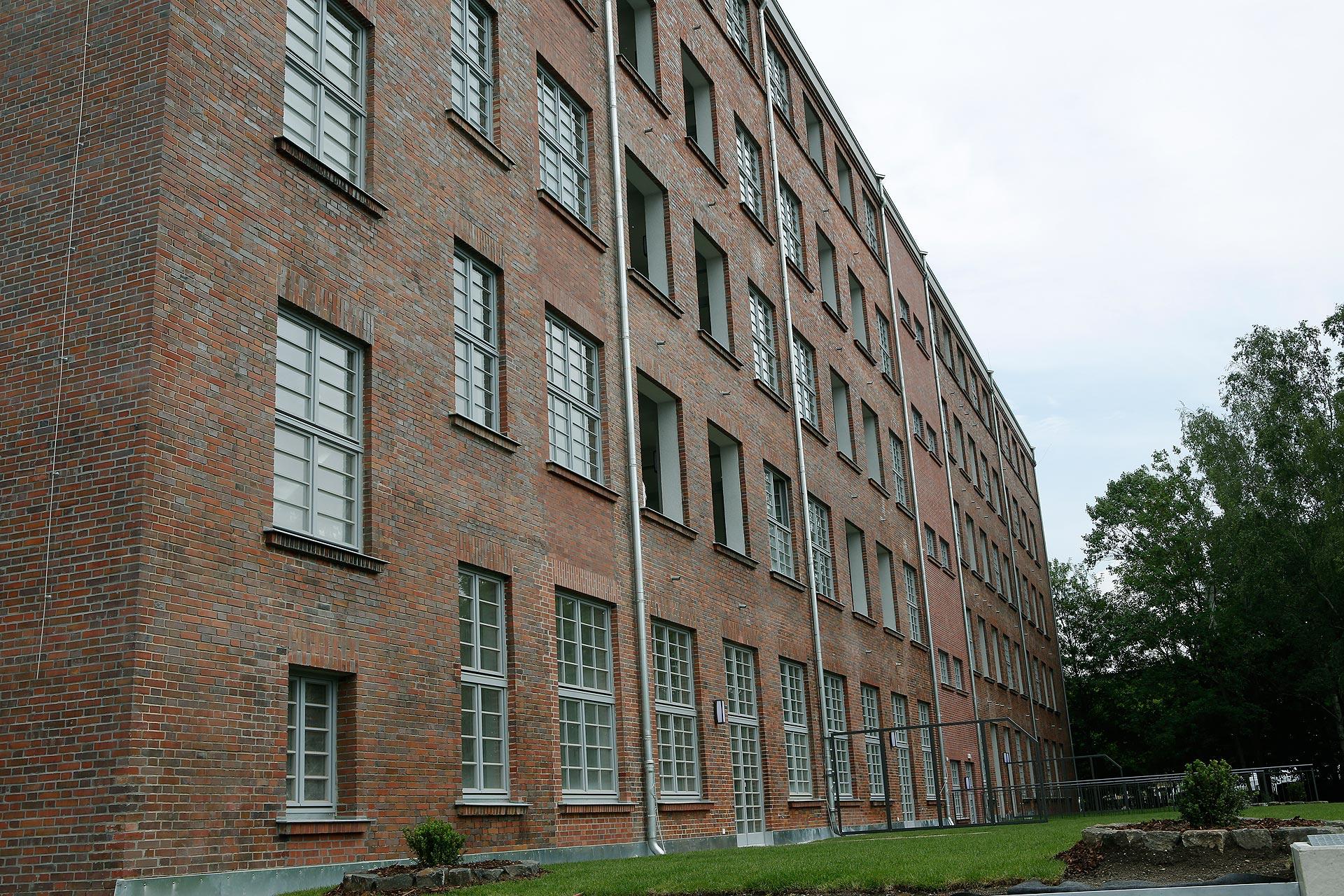 Die ehemalige Papierfabrik kaufte und sanierte Göpels Firma von zwei Jahren.