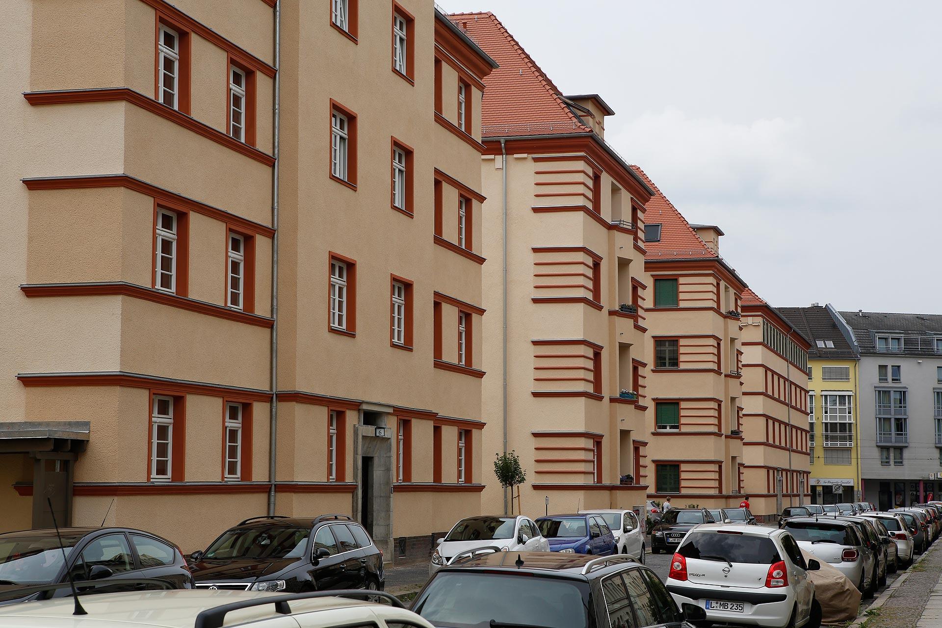 Göpels Firma kaufte auch das Tilia-Carée in Eutritzsch.