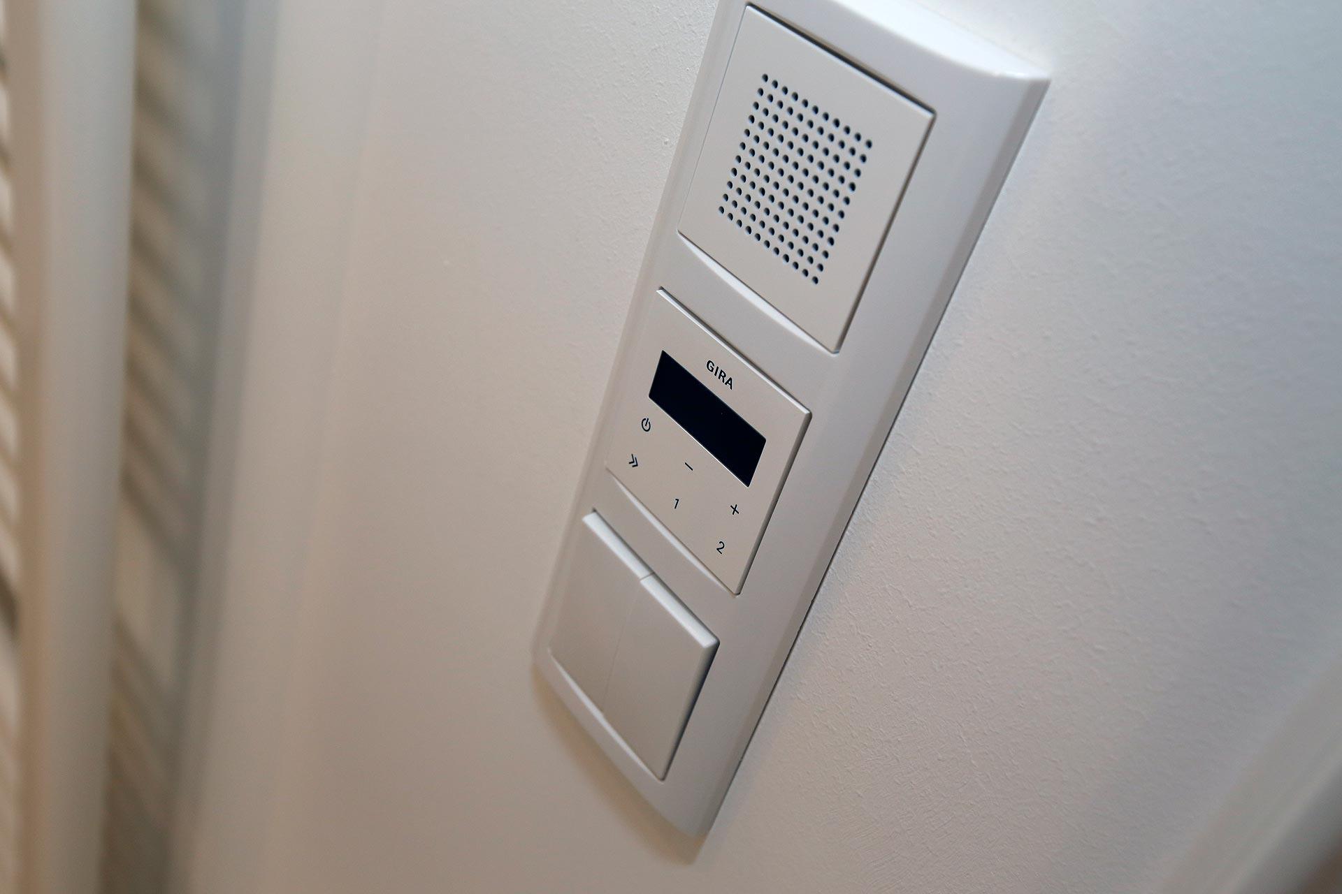 Alle Wohnungen haben eine Video-Sprechanlage.