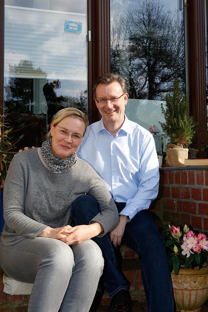 Jens Katzek und seine Frau Birgit sind seit 22 Jahren verheiratet.