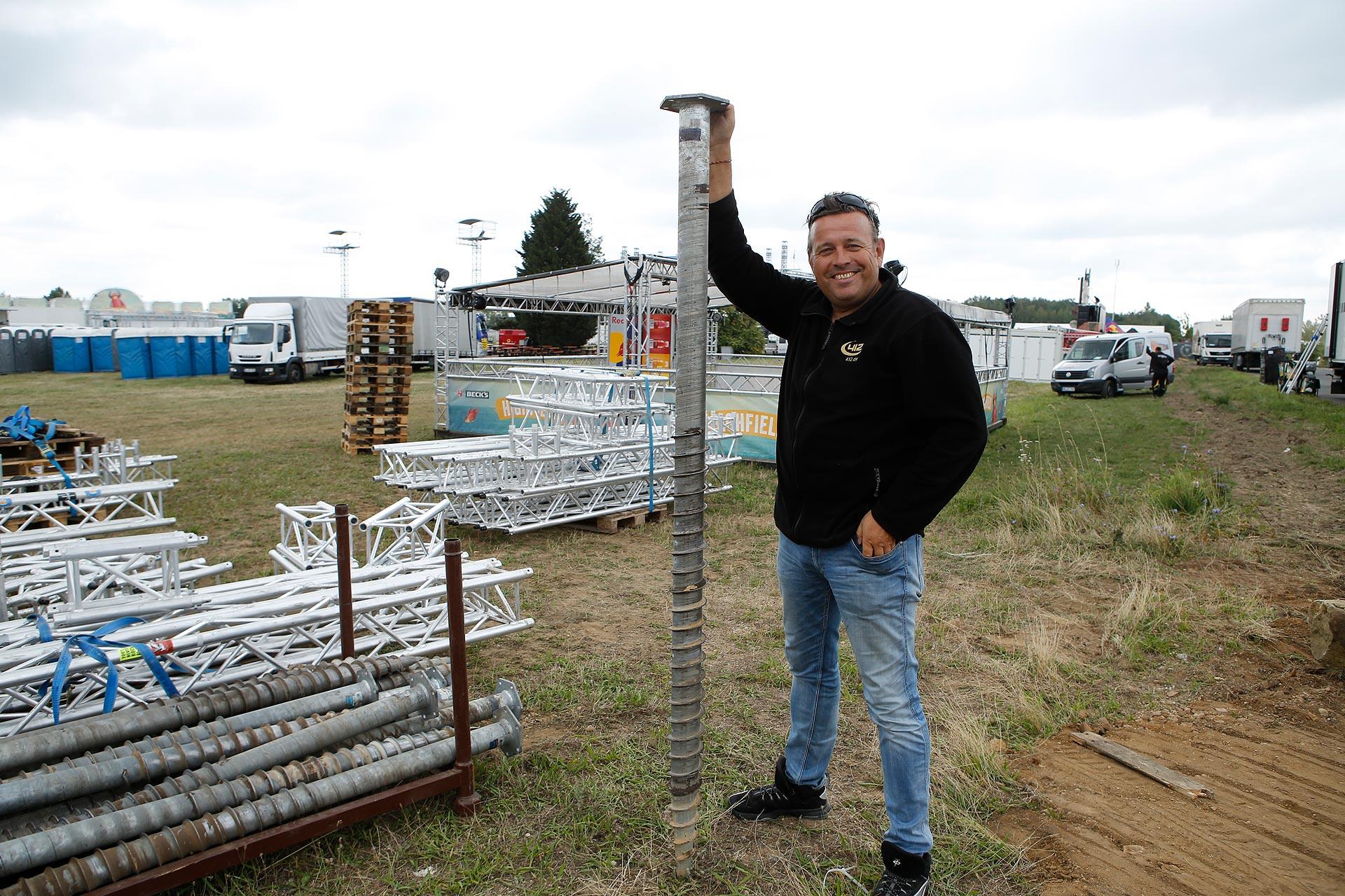 Ein Geschäftsmann: Caterer-Chef Matthias Graf