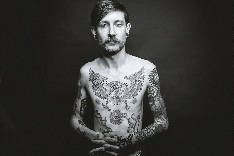 Als Model ein Profi: Christoph Pährisch Foto: Bryan Friedenberger Photography