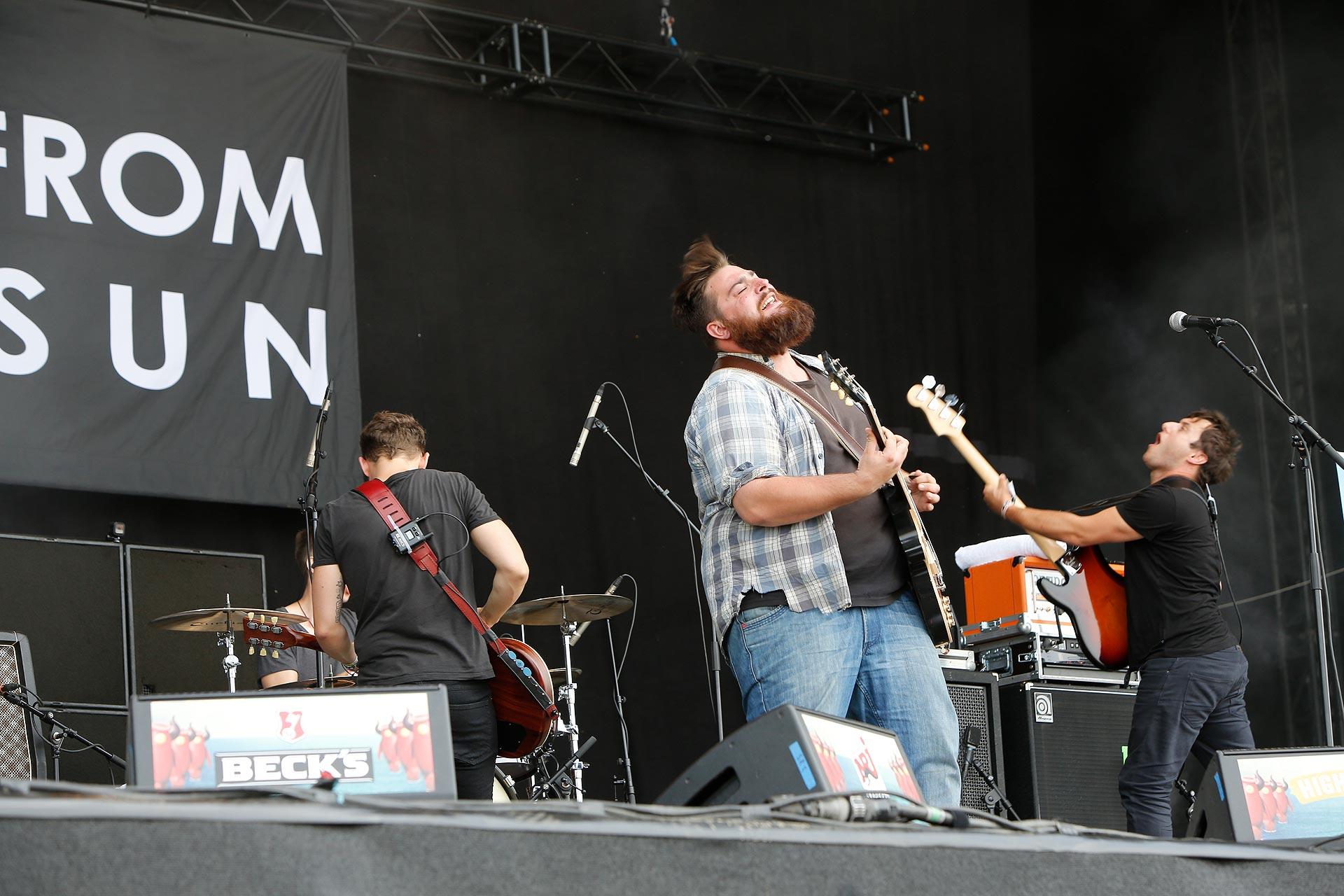 Nachwuchs mit Potential: die Leipziger Rockband I come from the sun