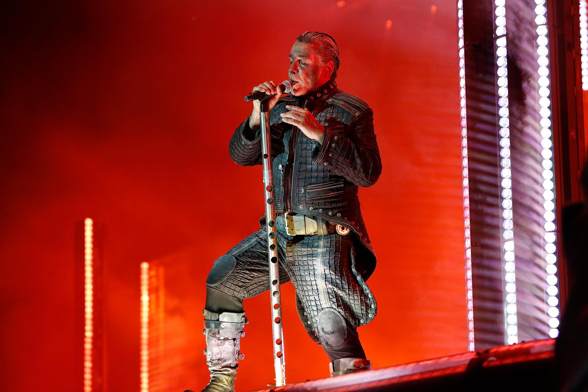 Martialischer Auftritt: Rammstein beim Highfield