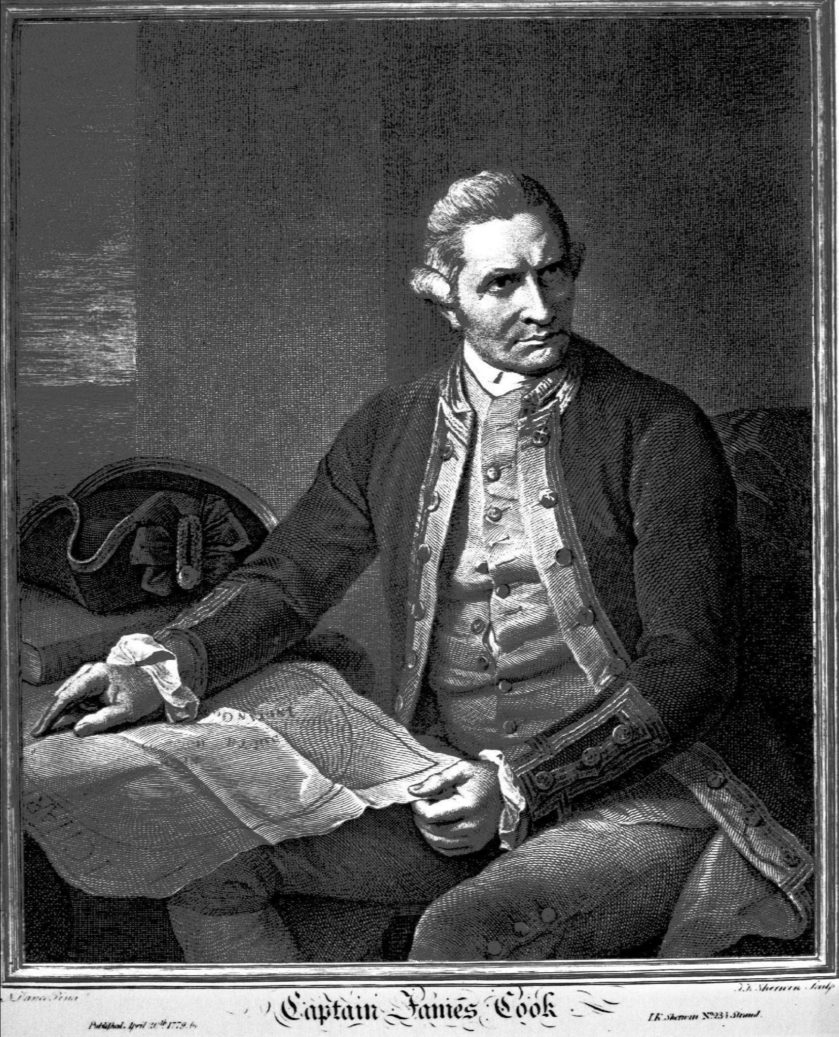 Der Seefahrer James Cook brachte die Tattoos in die westliche Welt.