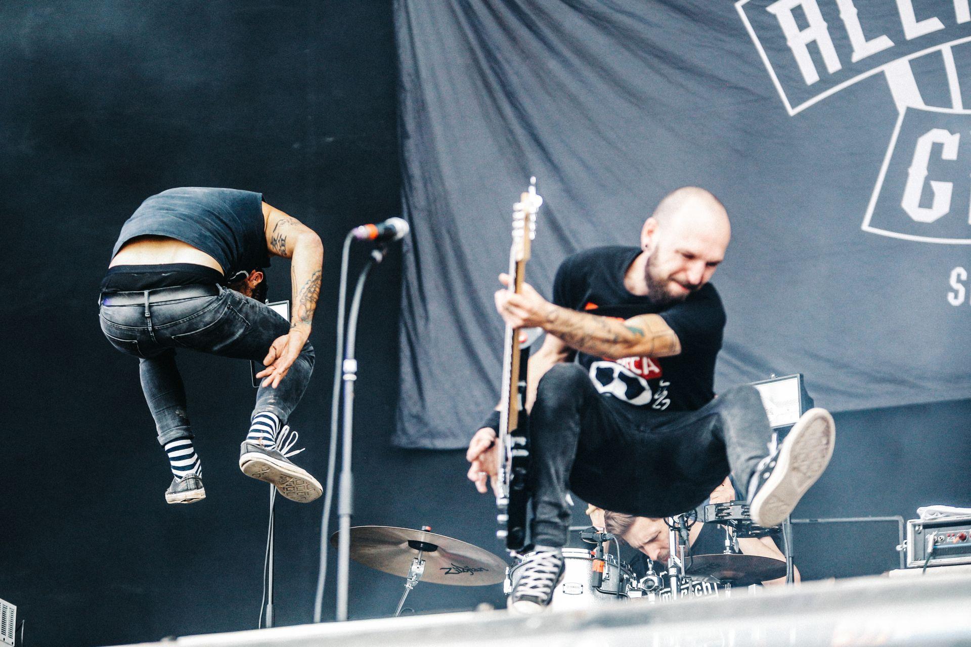 Alex Mofa Gang rockten am Samstag die Festivalbühne_Foto: Malte Schmidt Photography