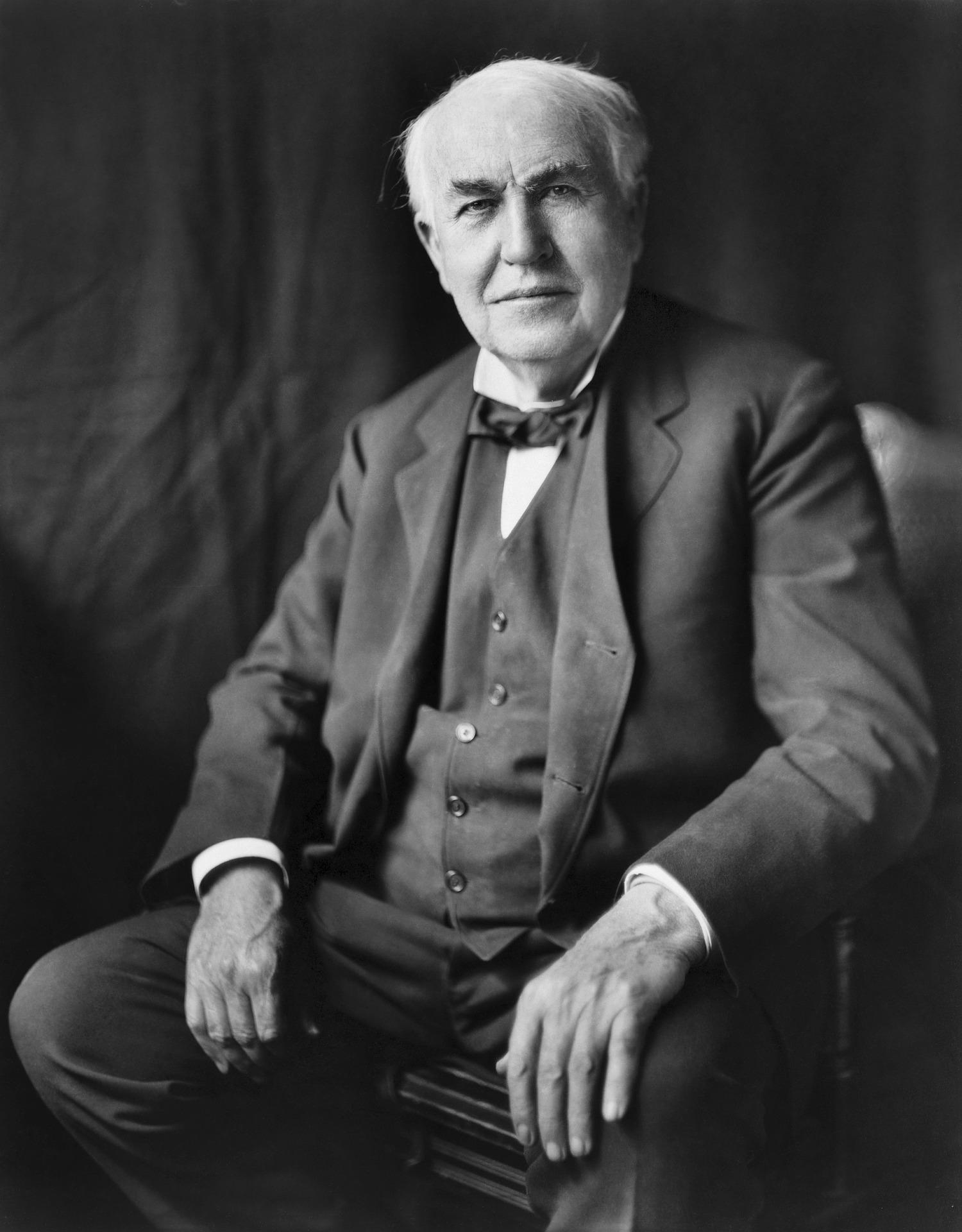 "Thomas Edison erfand den ""Stencil Pen""."