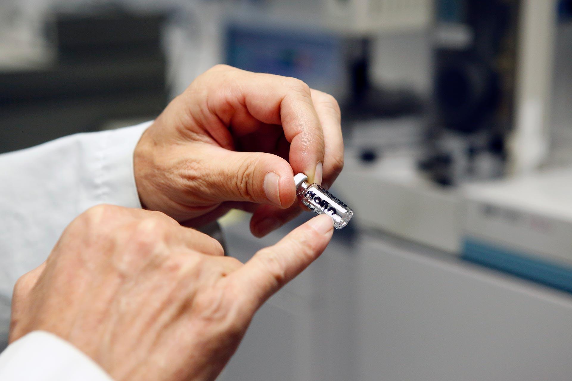 Heiner Trauer und sein Team untersuchen im Labor pro Jahr 3000 Blutproben der Polizei auf illegale Substanzen.