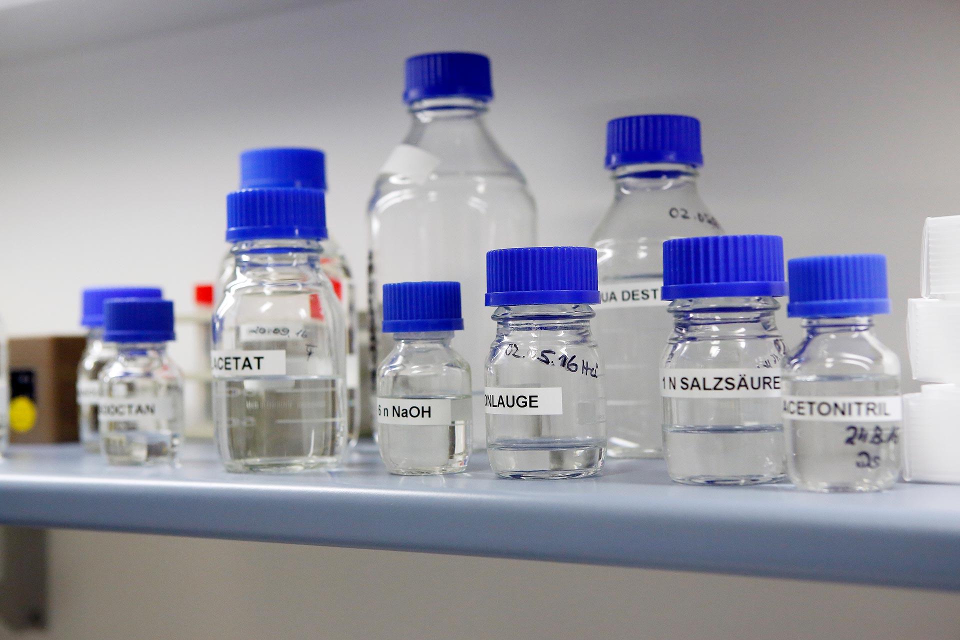 Im Labor hergestellt: Methamphetamin ist eine chemische Substanz, die so in der Natur nicht vorkommt.