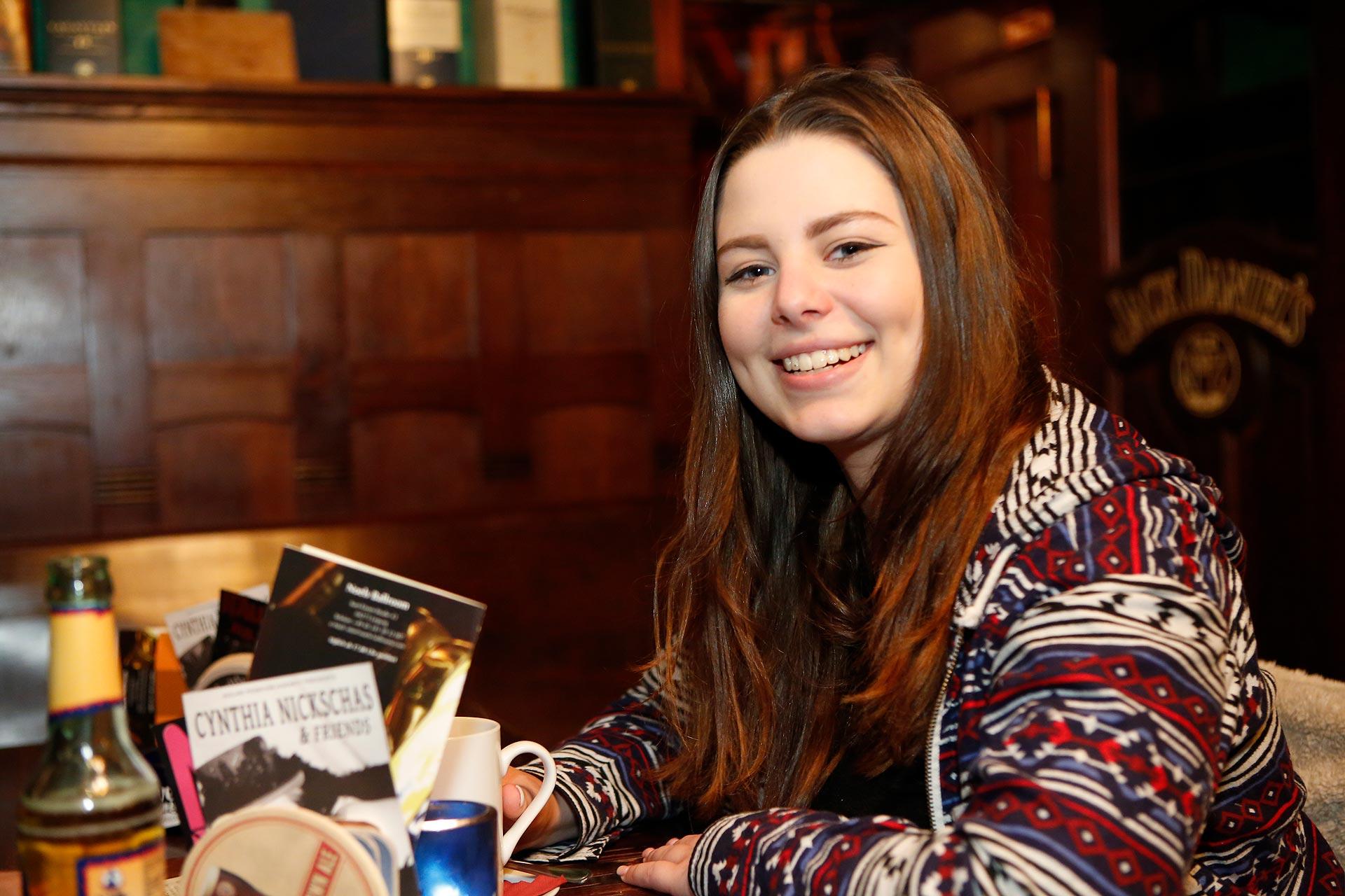 Zum englischen Pubquiz kommen besonders viele Erasmusstundeten.
