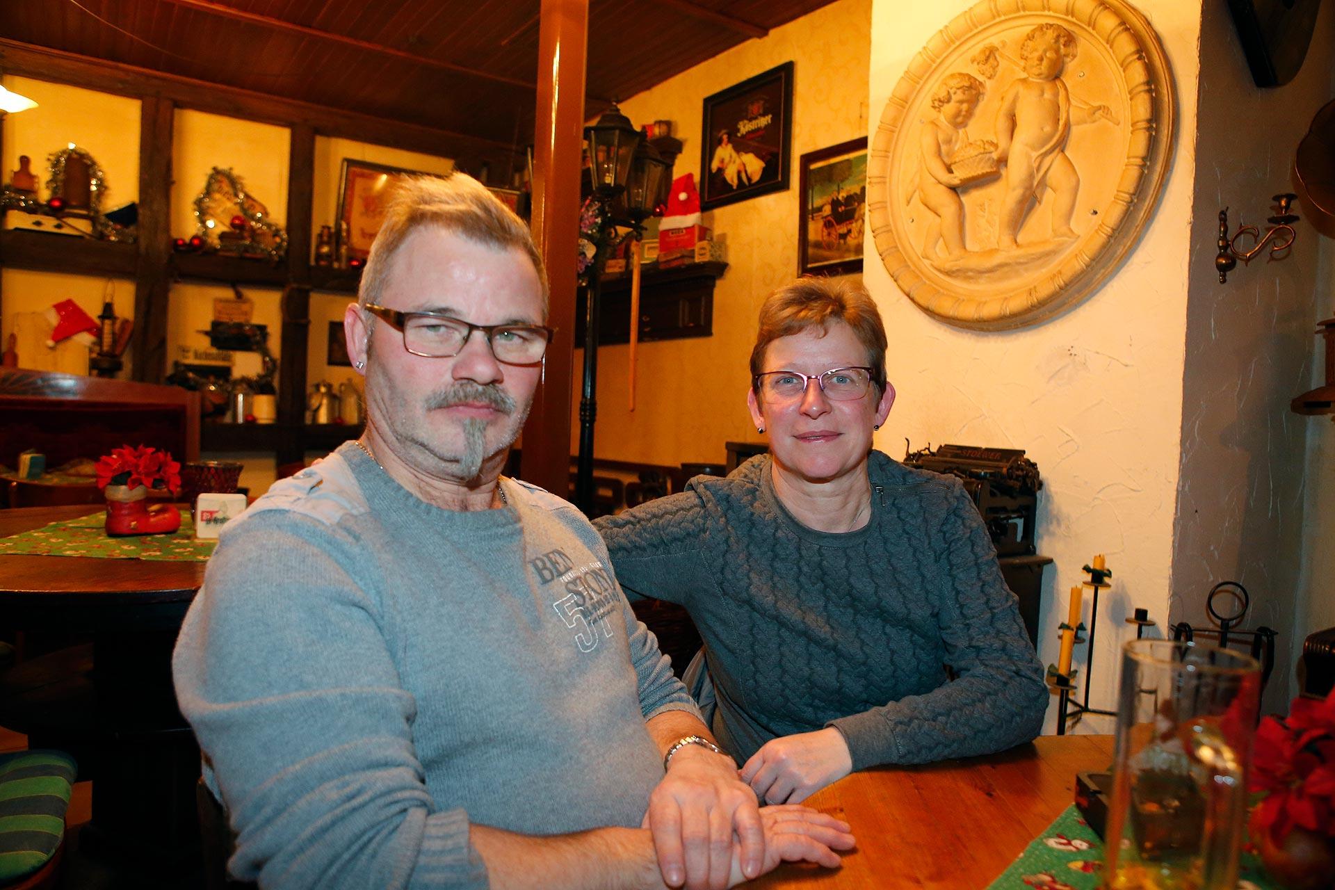 Frank und Birgit Mock wohnen gleich um die Ecke und kommen seit 16 Jahren hierher