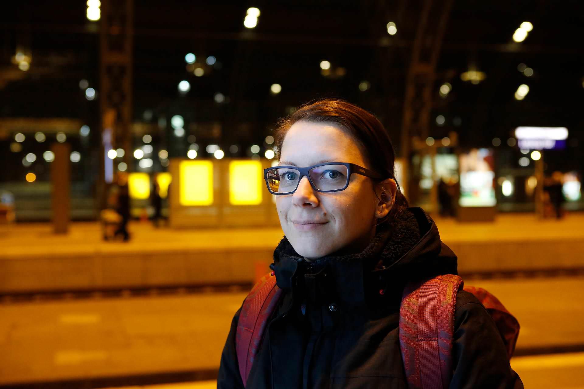 Doreen Schneider ist Berufspendlerin.