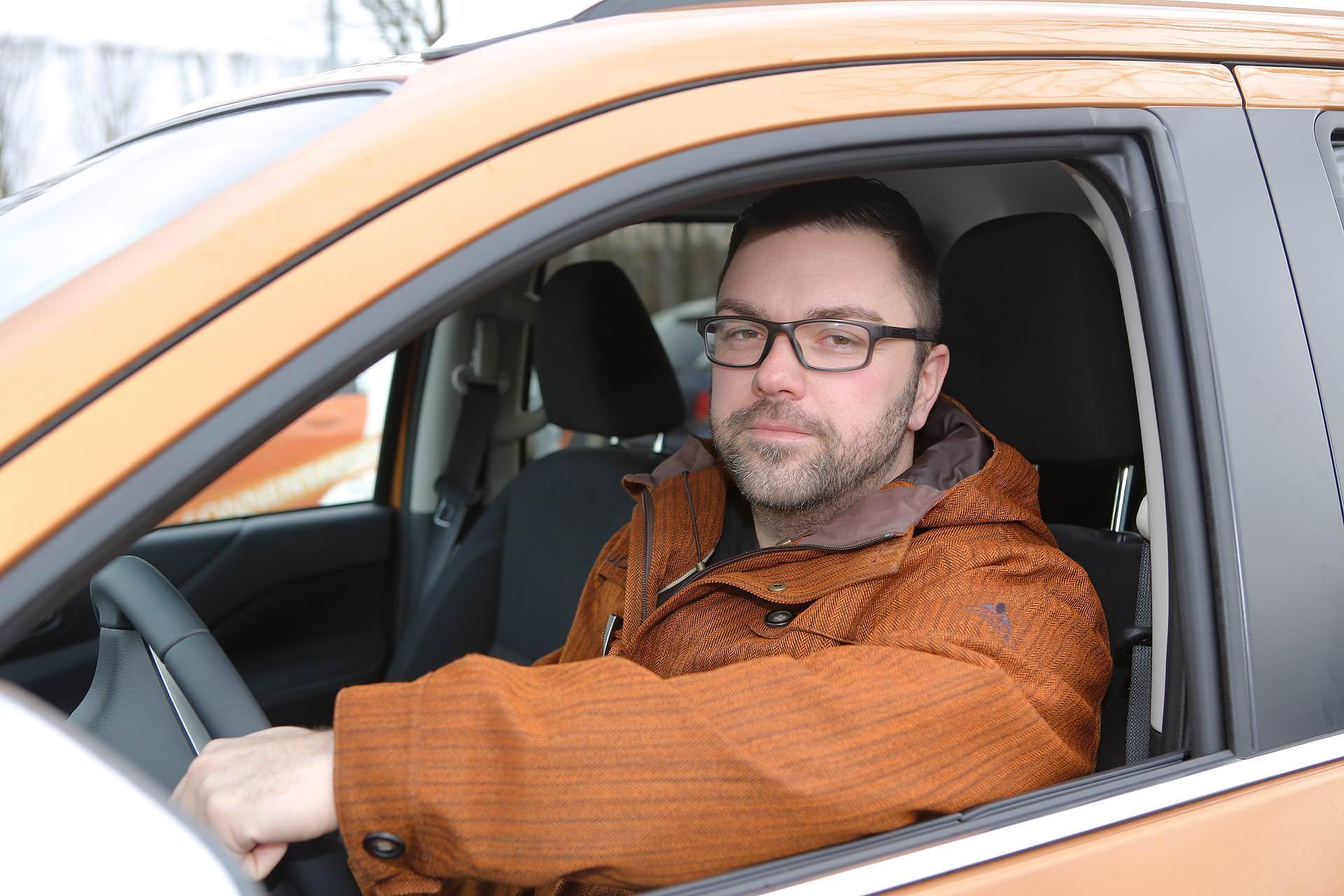 Björn Lindner nerven am Pendeln vor allem die anderen Autofahrer, von denen einige sehr aggressiv fahren.